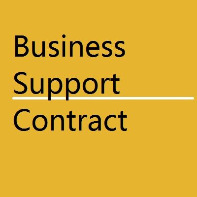 BANK Business Support Contract 400x400